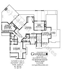 bradford floor plan bradford manor house plan house plans by garrell associates inc
