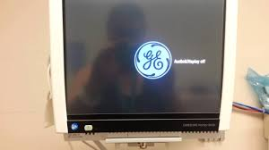 general electric carescape monitor b450 youtube