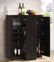 Portable Bar Cabinet Crosley Jefferson Portable Bar Cabinet Reviews Wayfair