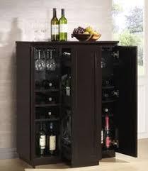 Portable Bar Cabinet Crosley Jefferson Portable Bar Cabinet Reviews Wayfair
