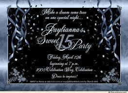 festive sweet 15 party invitations celebrate birthday