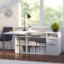 Desk L Modern Modern L Shaped Desks Allmodern