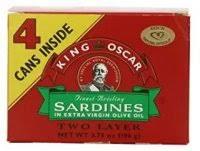King Oscar Sardines Mediterranean Style - king oscar sardines badger u0026 blade