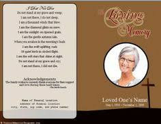 create funeral programs create funeral program using funeral template select size pages