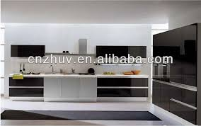 High Gloss Acrylic Kitchen Cabinets by High Gloss Black Acrylic Kitchen Unit Doors Buy Kitchen Unit