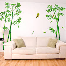 compare prices on forest wall stickers online shopping buy low green bamboo forest wall stickers pvc material decorative films living room cabinet decoration home decor stickers