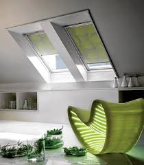 Modern Window Blinds Window Treatments Modern Blinds For Inclined Roof Windows