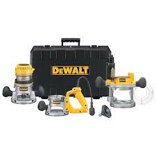 dewalt dw618b3 12 amp 2 1 4 horsepower plunge base and fixed base