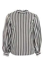 striped blouse balloon sleeve striped blouse shirts blouses clothing topshop