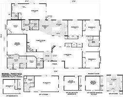 Triple Wide Floor Plans Oakland Triple Wide Hud Manufactured Home Floor Plans