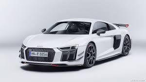 Audi R8 Grey - 2018 audi r8 performance parts color suzuka grey front three
