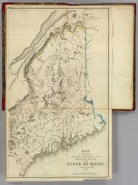 State Of Maine Map by Maine David Rumsey Historical Map Collection