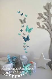chambre b b gris blanc bleu couleur chambre bebe gris bleu avec stickers papillons gris