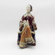 Collectible Home Decor Marvel Collectible Porcelain Dolls Female Sculpture Human Statues