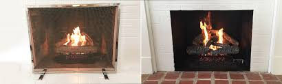 gas log fireplace chimney cleaning redwood city ca