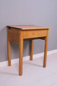 Kid School Desk Childrens Vintage Wooden School Desks Blue Ticking Best School