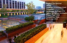 how landscape architecture helps to integrate two monumental buildings