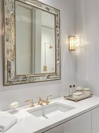 Gold Bathroom Mirror by Gold Bathroom Faucet Design Ideas