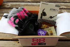 Fitness Gift Basket Buffboxx Fitness Subscription Box Review