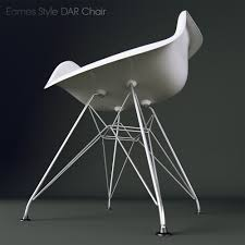 Eames Style Chair by Eames Style Dar Chair 3d Model Max Fbx