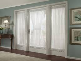 superb ideas for french door window treatments featuring glass