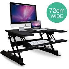 height adjustable standing desk riser sit stand up computer