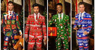 christmas suit the bay is now selling the most badass 3 christmas suits for