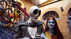 jack and sally u0027s riddle contest at disneyland youtube