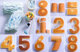 cake diy how to make a number cake home design garden architecture