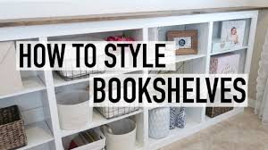 how to style your bookshelves vintage u0026 rustic chic decor