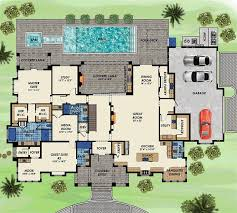 contemporary house floor plans 79 best floor plans 5 bedrooms images on floor plans