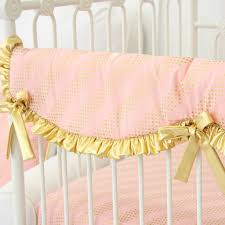 Pink And Gold Nursery Bedding Gold And Pink Baby Bedding U2013 Caden Lane