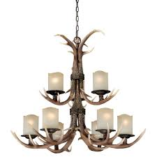 Cheap Fake Chandeliers Interior Bring Fantastic Your Home With Antique Faux Antler