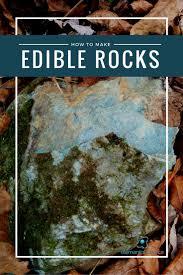 edible rocks how to make edible rocks earth science activity