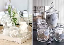 Bathroom Apothecary Jar Ideas To Bid Farewell To Bathroom Clutter