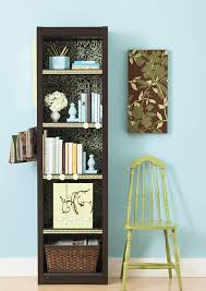 Dark Cherry Bookshelf Bhg Centsational Style