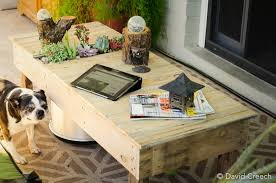 Diy Coffee Tables by Diy Project Coffee Table With Planter
