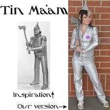 Tin Woman Halloween Costume 2013 Diy Costumes 4 Garment District