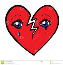 Broken Heart Meme - crying broken heart stock illustration illustration of affection
