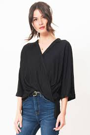 criss cross blouse criss cross blouse black primary york