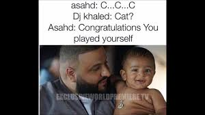 Son Memes - dj khaled and his son asahd khaled best funny memes 2017 youtube
