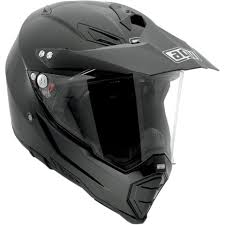 motocross bike helmets agv ax 8 gloss black dual sport evo full face motorcycle dirt bike
