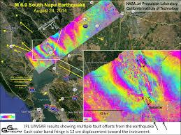 Fault Lines United States Map by Nasa Research Aids Response To California Napa Quake Nasa