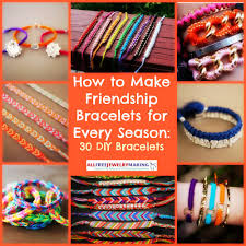 diy make bracelet images How to make friendship bracelets for every season 30 diy jpg