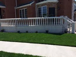 concrete balustrade porch railings stair railings stair balusters