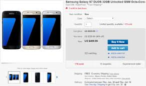 best 2016 black friday unlocked cell phone deals deal alert unlocked galaxy s7 dual sim on sale for 499 99 via ebay