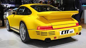ruf porsche ruf debuts fourth gen ctr supercar with 700 hp porsche engine