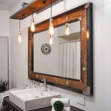 lighting white toilet for bathroom decor with rustic bathroom