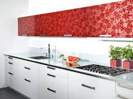 facade de meuble de cuisine facade meuble cuisine fleurs cuisine et grise