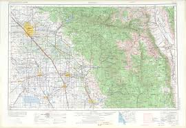 Topographic Map Of The United States by Fresno Topographic Map Sheet United States 1971 Full Size